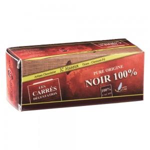 Carré Dégustation 160 gr  100 % Cacao