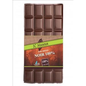Tablette chocolat noir 100% cacao