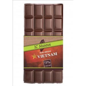 Tablette chocolat noir Pur Vietnam 73% cacao