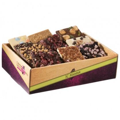 """Les Inattendus """" Chocolat à Casser """" assortis 1000 grs"""