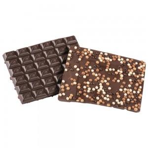 Chocolat Noir Perles de Riz Soufflé par 100 grs