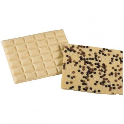 Chocolat Blanc Perles de Riz Soufflé par 100 grs