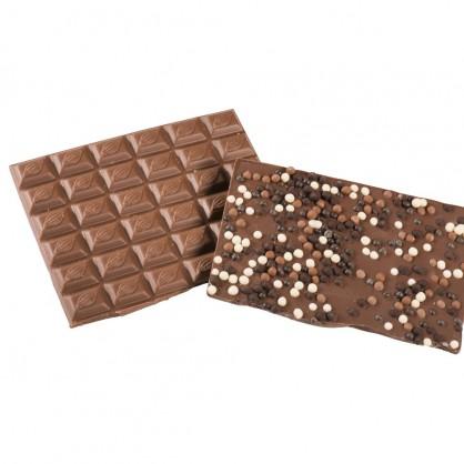 Chocolat Lait Perles de Riz soufflé par 100 grs