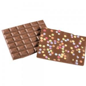 Chocolat Lait smarties  par 100 grs