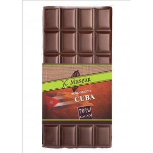 Tablette chocolat noir Pur Cuba 70% cacao