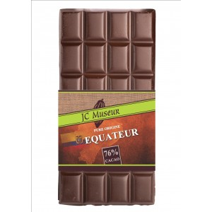 Tablette chocolat noir Pur Equateur 76% cacao