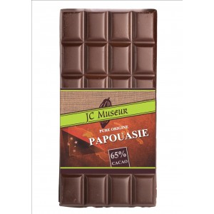 Tablette chocolat noir Pur Papouasie 65% cacao