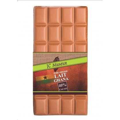 Tablette chocolat lait Pur Ghana