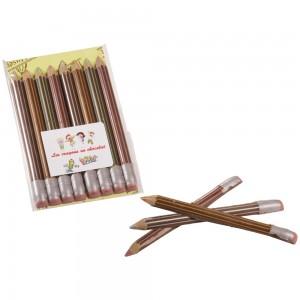 Crayons en Chocolat Lait